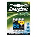 Akumulatory HR03 AAA 800mAh Energizer