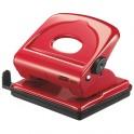 Dziurkacz metalowy FMC25 Rapid, czerwony, 5 lat gwarancji, 25 kartek