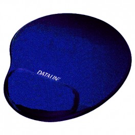 Podkładka żelowa pod mysz 19x225x250 niebieska